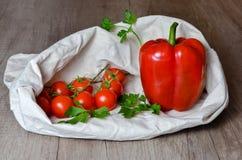 Legumes frescos e leguminosa vermelhos foto de stock
