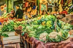 Legumes frescos em um mercado em Palermo Imagem de Stock Royalty Free