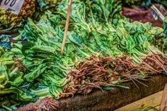 Legumes frescos em um mercado em Palermo Foto de Stock