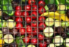 Legumes frescos para grelhar foto de stock royalty free