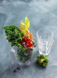 Legumes frescos para preparar o batido Imagens de Stock Royalty Free
