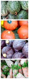 Legumes frescos (seque a escova) Fotografia de Stock Royalty Free
