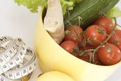 Legumes frescos - uma base de um alimento saudável Fotografia de Stock Royalty Free