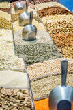 Legumes in the market. In Jerusalem, Israel Royalty Free Stock Photos