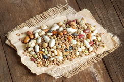 Legumes mix Royalty Free Stock Photography