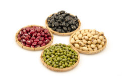 Legumes raw on a white background. Stock Photography