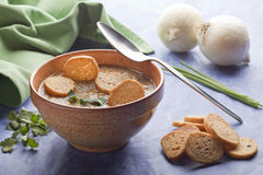 Legumes Soup. Royalty Free Stock Photography