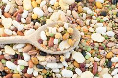 Legumes soup Royalty Free Stock Images