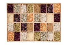 Leguminous collection. Stock Photo