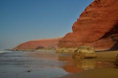 Legzira beach. Arch in legzira beach, Morocco Royalty Free Stock Images