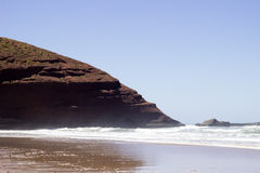 Legzira beach, Morocco. royalty free stock image