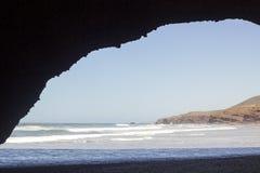 Legzira beach, Morocco. stock images