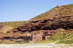 Legzira beach, Morocco. stock photography