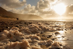 Legzira plaża, Maroko zdjęcia stock