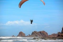 Legzira plaża Morrocco obrazy stock