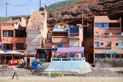 Legzira strand Morrocco royaltyfri fotografi