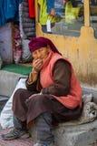 LEH, ÍNDIA 3 DE SETEMBRO: Ladakh People3, 2011 em Leh, Índia Em Fotografia de Stock Royalty Free