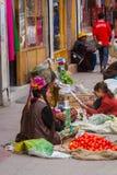 LEH, ÍNDIA 3 DE SETEMBRO: Ladakh People3, 2011 em Leh, Índia Em Imagens de Stock