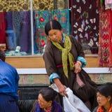 LEH, ÍNDIA 4 DE SETEMBRO: Ladakh People4, 2011 em Leh, Índia Em Imagem de Stock Royalty Free