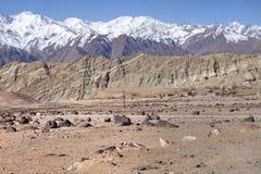 Leh, τοπίο Ladakh Στοκ εικόνα με δικαίωμα ελεύθερης χρήσης