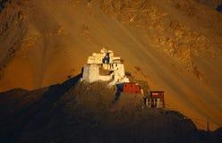 leh короля gompa Стоковая Фотография