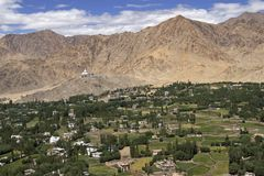 Leh - Capital of Ladakh, India Stock Photos