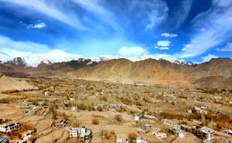 Leh city Stock Photography