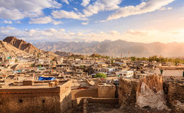 Leh. City of Leh, capital of Ladakh, India royalty free stock images