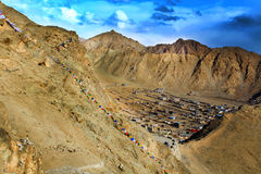Leh city(city of gompas) Royalty Free Stock Photography