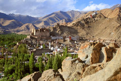 Leh city (India) Royalty Free Stock Photo
