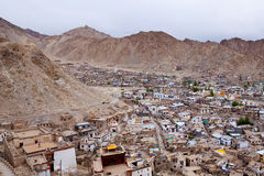 Leh city, India Royalty Free Stock Photography