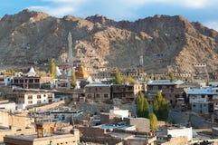 Leh city in India Stock Image