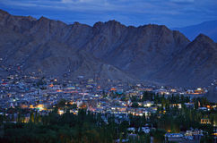 Leh City Stock Image