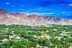 Leh city, Ladakh, India Stock Photo