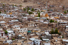 Leh city is located in the Indian Himalayas Royalty Free Stock Images