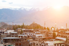 Leh city in north India Royalty Free Stock Photo