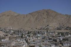 Leh City. Leh old City at Leh India Stock Image