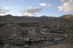 Leh City. View on evening Stock Images