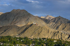 Leh City. City view of Leh, India royalty free stock photos