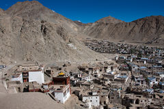 Leh city view, Ladakh, India Royalty Free Stock Photography