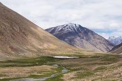 Leh district, India. Landscape around Leh district in Ladakh, India Stock Photo