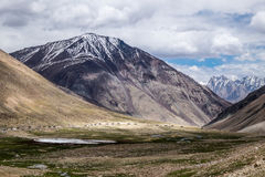 Leh district, India. Landscape around Leh district in Ladakh, India Royalty Free Stock Photography