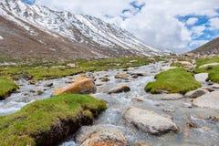 Leh district, India. Landscape around Leh district in Ladakh, India Stock Photos