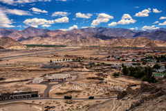 Leh em Ladakh Fotografia de Stock
