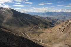 Leh góry autostrada Obrazy Royalty Free