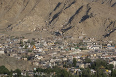 Leh i Ladakh - den avlägsna Northerdelen av Indien Royaltyfri Foto