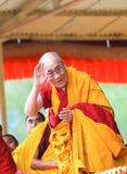 LEH, INDE - 5 AOÛT 2012 : Sa sainteté le 14ème image libre de droits