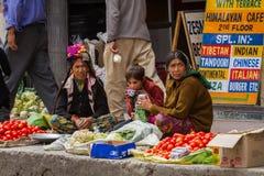 LEH, INDE 4 SEPTEMBRE : Ladakh People4, 2011 dans Leh, Inde Dans Photographie stock libre de droits