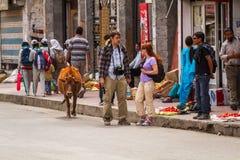 LEH, INDE 4 SEPTEMBRE : Ladakh People4, 2011 dans Leh, Inde Dans Photo libre de droits