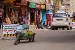 LEH, INDE 4 SEPTEMBRE : Ladakh People4, 2011 dans Leh, Inde Dans Photos stock